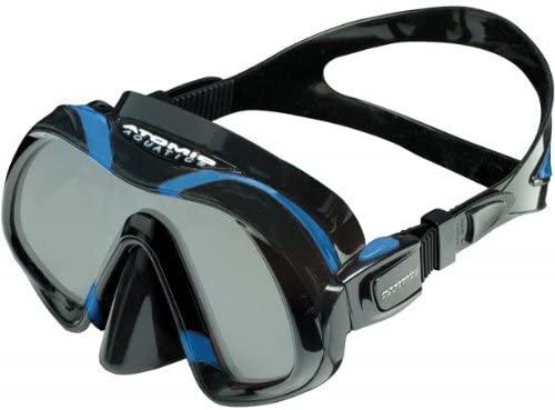 Atomic Venom Ultra Clear Ultra Wide Panoramic View Scuba Diving Mask, Blue