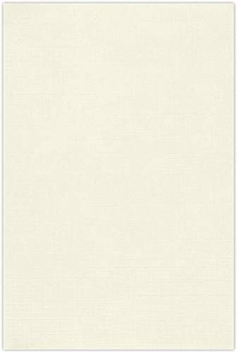 12 x 18 Cardstock - Natural Linen (50 Qty) | Perfect for Holiday crafting, invitations, scrapbooking and so much more! | 1218-C-NLI-50