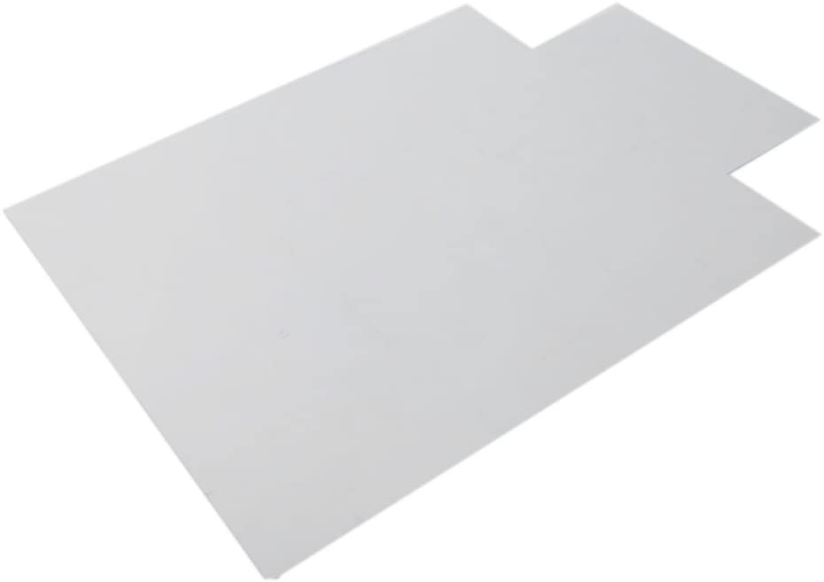Festnight Clear Chair Mat PVC Matte Home-use Protective Mat with Lip for Hardwood Hard Floor Protector Office Chair Mats Thick Transparent 47.24 x 35.43 x 0.09 Inches (L x W x H)
