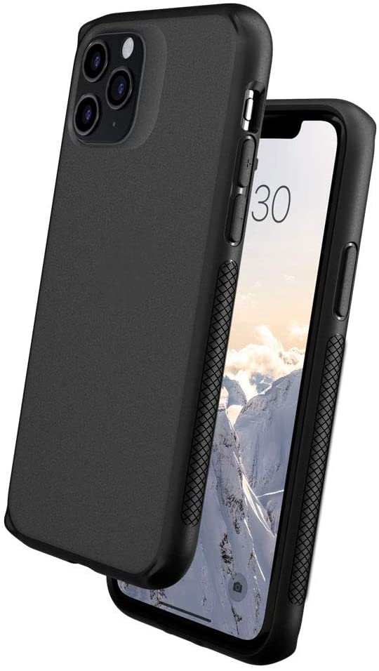 Caudabe Synthesis iPhone 11 Pro [Slim], [Rugged], [Protective] iPhone 11 Pro Case (Stealth Black)