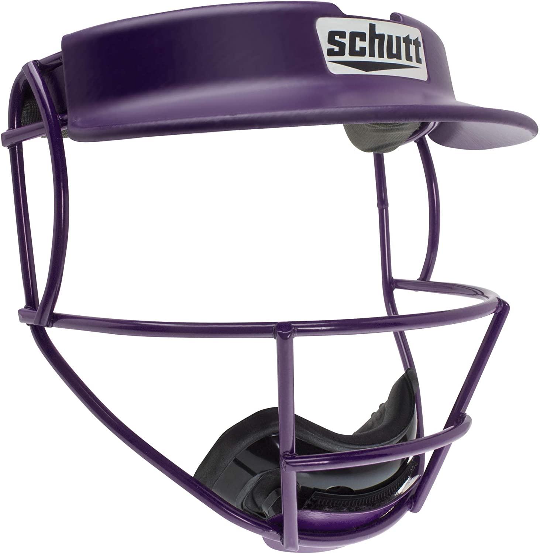 Schutt Sports V2 Softball Fielder's Guard Varsity Faceguard with Visor