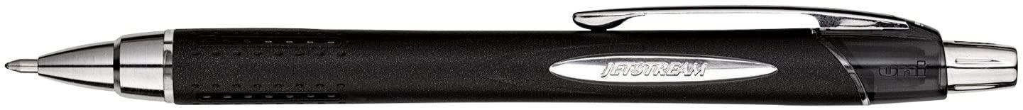 Uni-Ball Jetstream RT Retractable Water Resistant Rollerball Gel Pen, 1 mm Bold Tip, Black