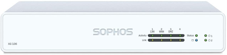 Sophos XG 106 EnterpriseProtect Plus 1 YR Bundle VPN Firewall Appliance and EnterpriseGuard License Plus 1 Year