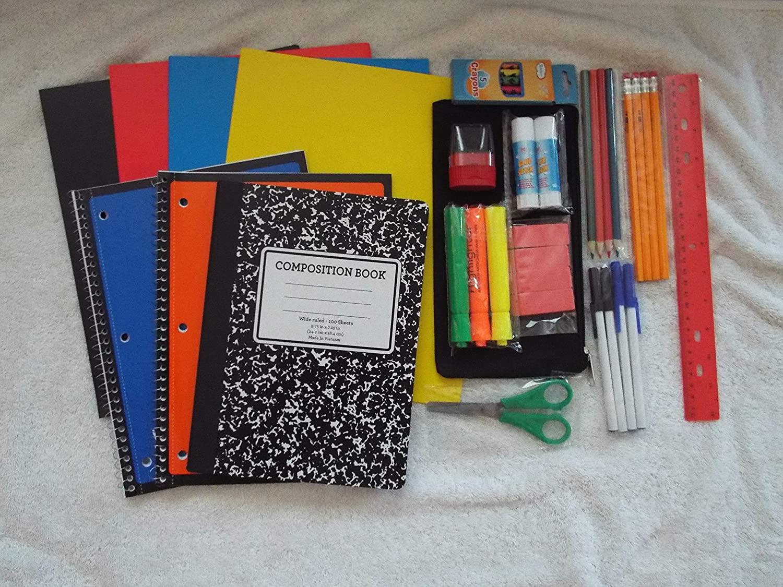 24 Piece-School Supply Kit