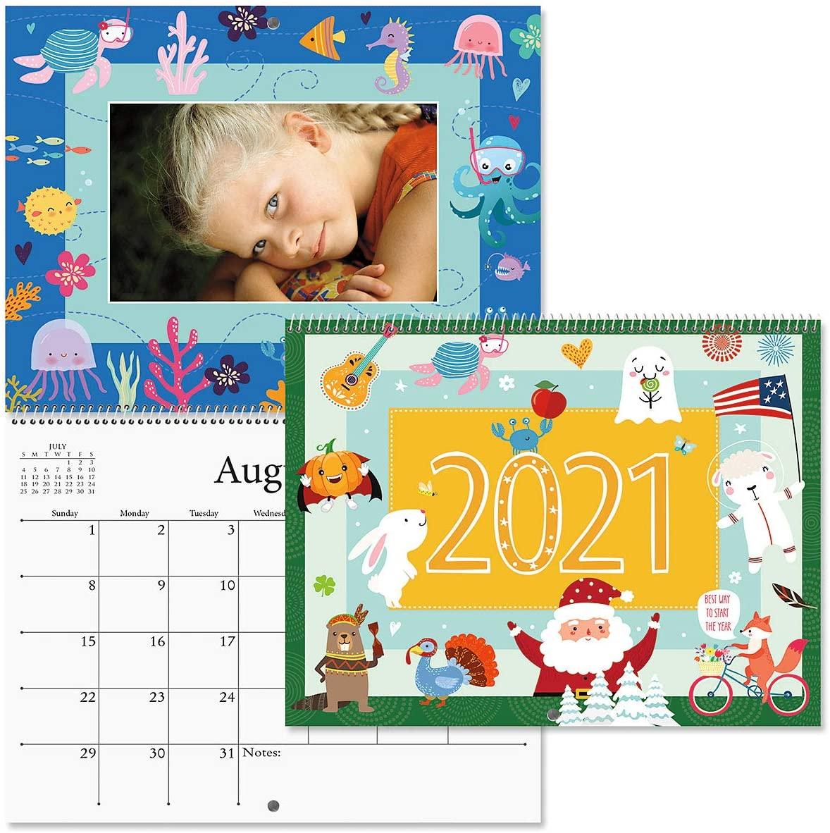 2021 Graphic Photo Calendar - 8-3/4