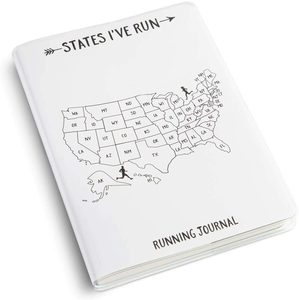 Day-by-Day Run Planner | Running Journals by Gone For a Run | States I've Run