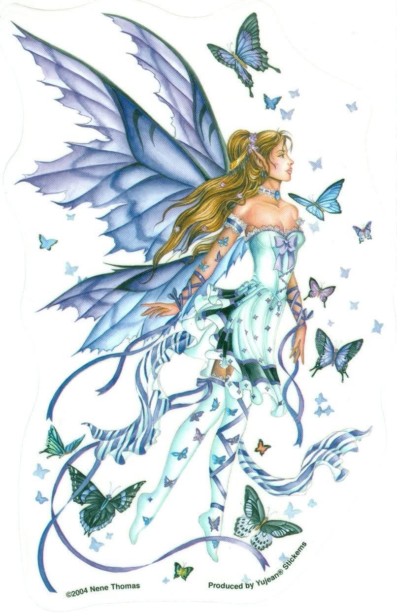 Nene Thomas - Beautiful Lavender Purple Fairy - Sticker/Decal