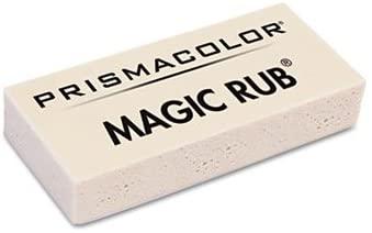 prismacolor MAGIC RUB Art Eraser, Vinyl, Dozen