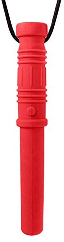 ARK's Bite Saber Chew Necklace (Soft & Chewy for Mild Chewing Only) - Red
