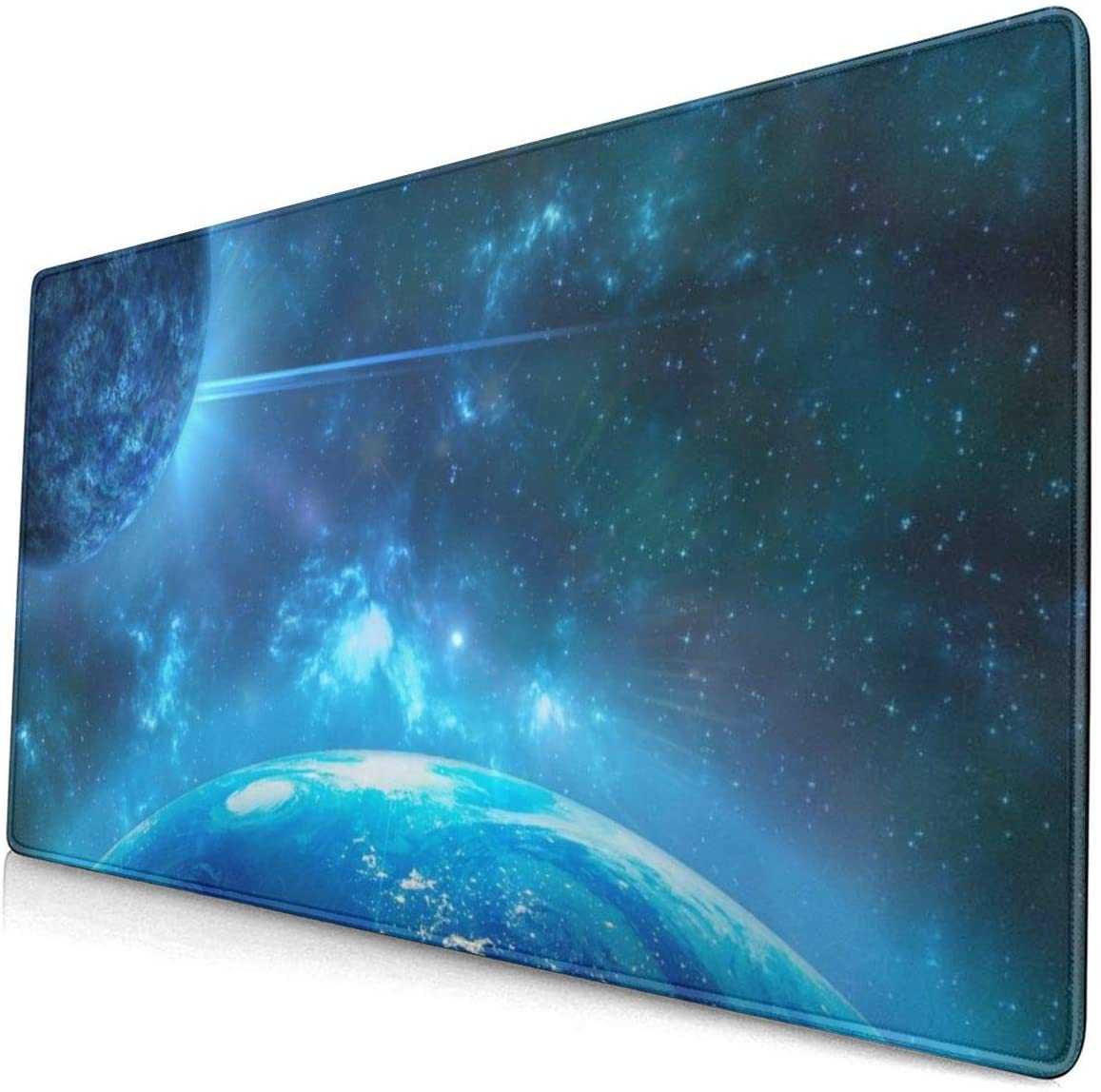 Professional Large Mouse Pad & Computer Game Mouse Mat (29.5x15.7 inch) XXL Galaxy Earth