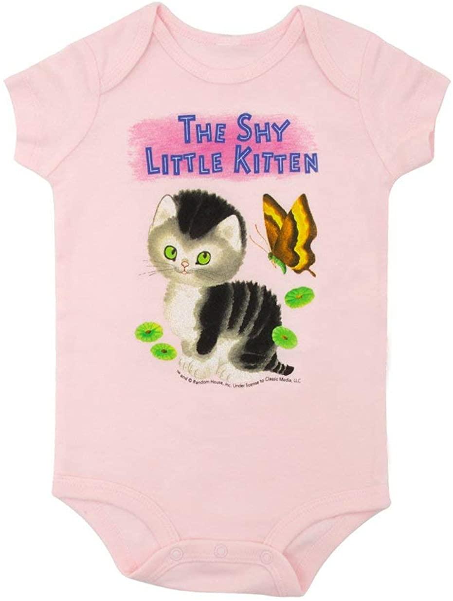 Out of Print Little Golden Books The Shy Little Kitten Unisex Baby Bodysuit 6 Months
