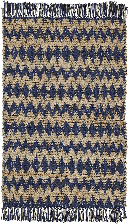 Thetford Handwoven Jute and Cotton Indoor Area Rug