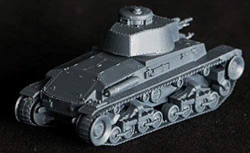 First to Fight 1/72 Scale Pz.Kpfw. 35T German Light Tank - Plastic Model Building Kit # 038