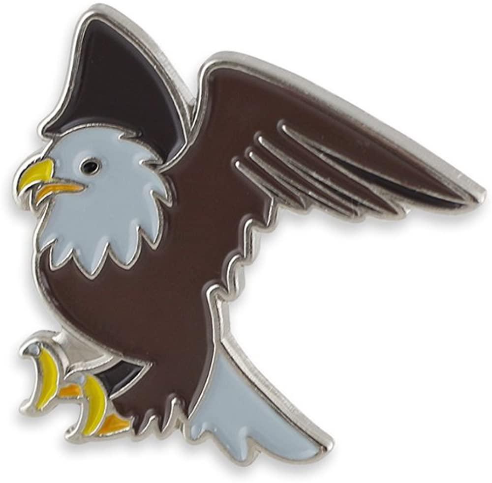 Bald Eagle Emoji USA American National Embled Enamel Lapel Pin– 1 Pin