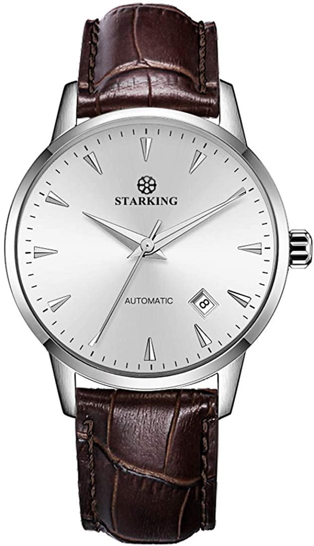 STARKING Automatic Mens Wrist Watch AM0171 Japanese Movement Stainless Steel Business Style Fashion Waterproof Scratch Proof Man Watch …