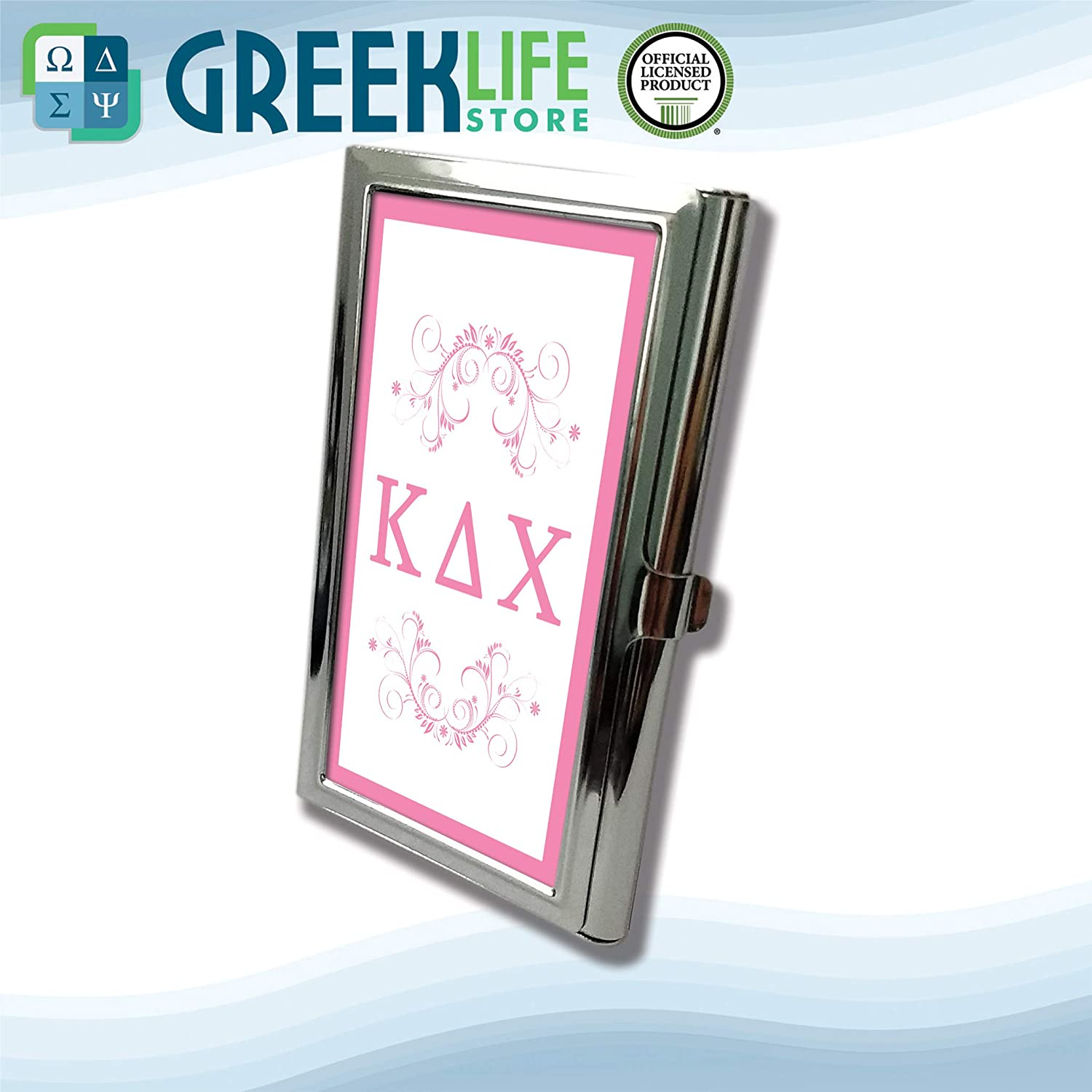 Kappa Delta Chi Business Card Holder Stainless Steel