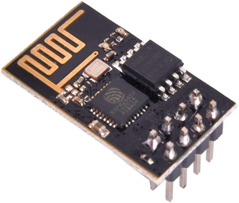 SQINAA ESP8266 ESP-01 Serial WiFi Wireless Transceiver Wireless Module Development Board LWIP AP+STA Compatible with Arduino