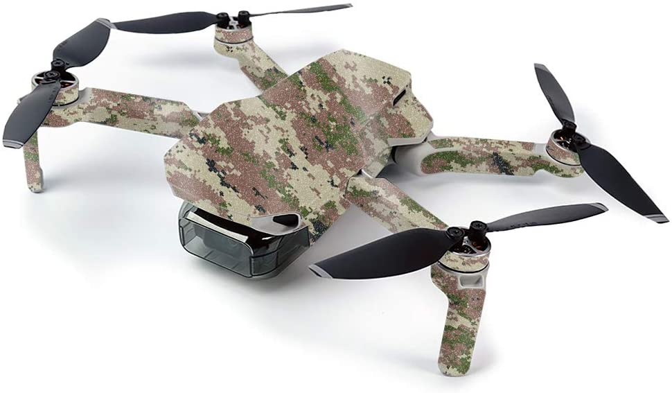 MightySkins Glossy Glitter Skin for DJI Mavic Mini Portable Drone Quadcopter - Urban Camo | Protective, Durable High-Gloss Glitter Finish | Easy to Apply, Remove, and Change Styles | Made in The USA