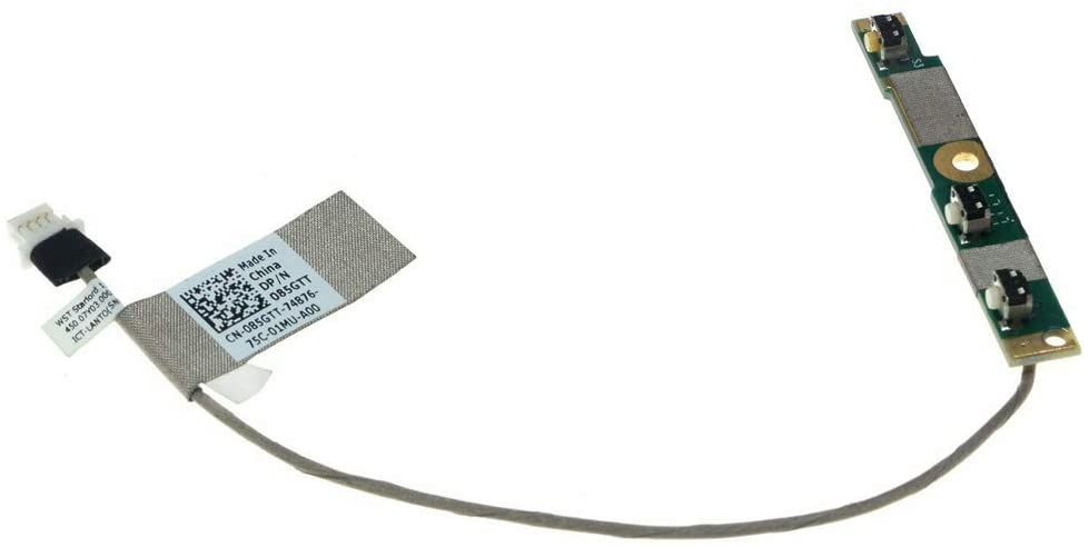 MMOBIEL Power Volume Button Switch Board Flex Cable Replacement Compatible with Dell Inspiron 15-5568 7568 7569 7778 7779 13-5386 5378 5379 5578 7375 7368 7378 Series