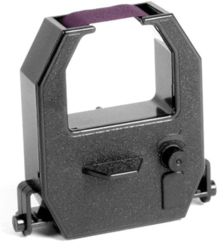 (5 Pack) Amano PIX 10/15/20/21/25/28/55/75/95/200/3000x Time Clock Ribbon - Purple Ink