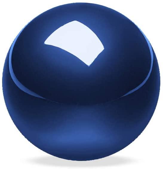 Perixx PERIPRO-303GB Small Trackball 34mm Replacement Ball for Perimice and M570 Elecom Kensington Glossy Blue