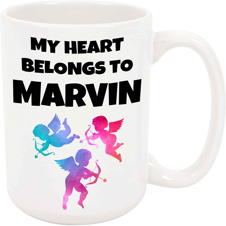 My Heart Belongs To Marvin Coffee Mug