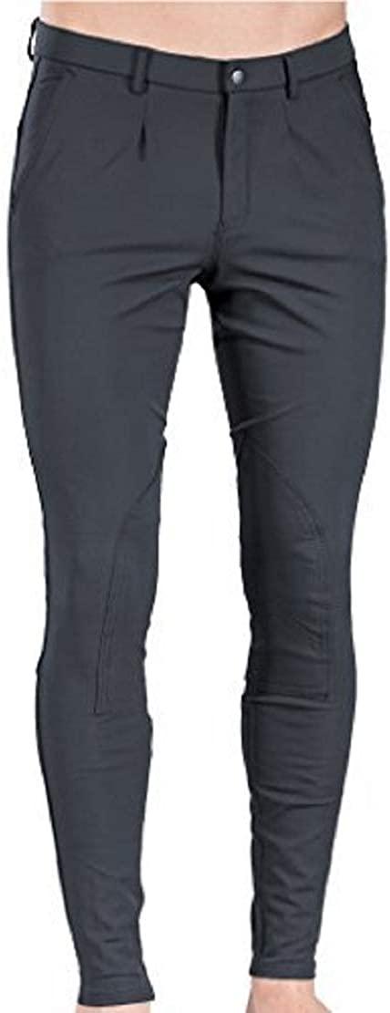 B Vertigo Sander Men's Self Patch Breeches gray 38