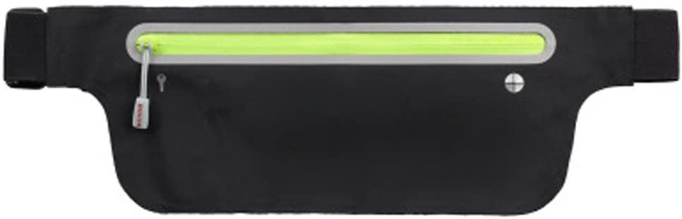 Running Waist Pack,Lightweight Fitness Workout Belt Sport Waist Bag Water Resistant Reflective Runner Belt Sports Freerunning Phone Holder Adjustable Waistband for Man Women Outdoors Running Climbing