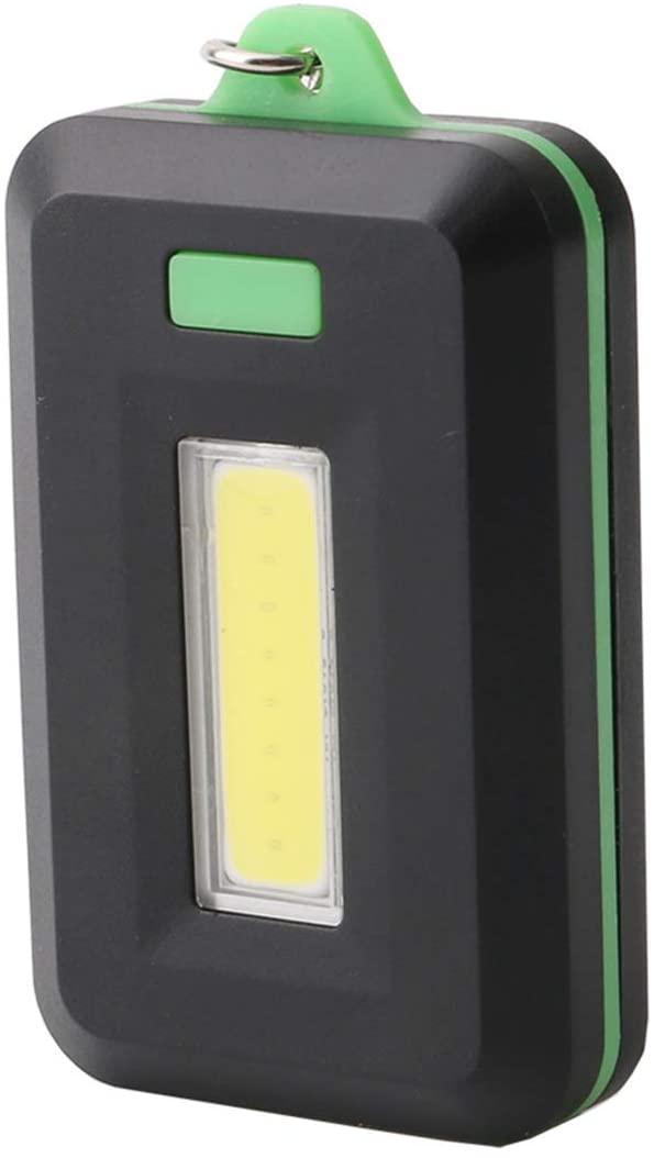SOONHUA Keychain Flashlight Portable Emergency Light 3 Lighting Mode Adopting quality COB Beads Keychain