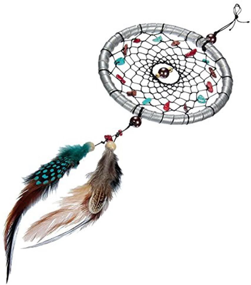 ULTNICE Dream Catcher Keychain Hanging Decoration 11 stem Hanging Ornament
