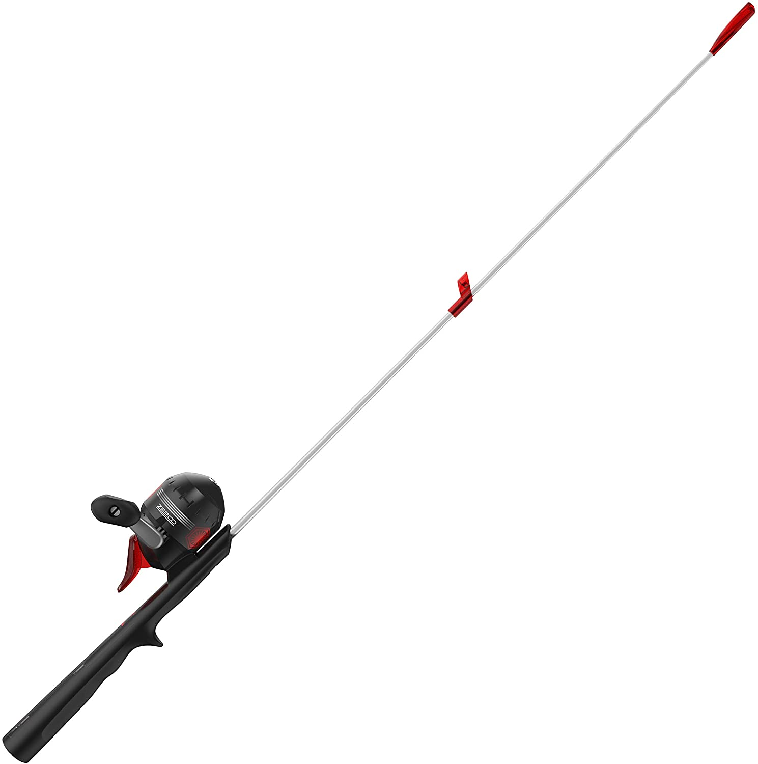 Zebco Star Wars Kylo Ren Kids Spincast Reel and Light-Up Fishing Rod Combo, 29-Inch Lighted Rod, Quickset Anti-Reverse Fishing Reel