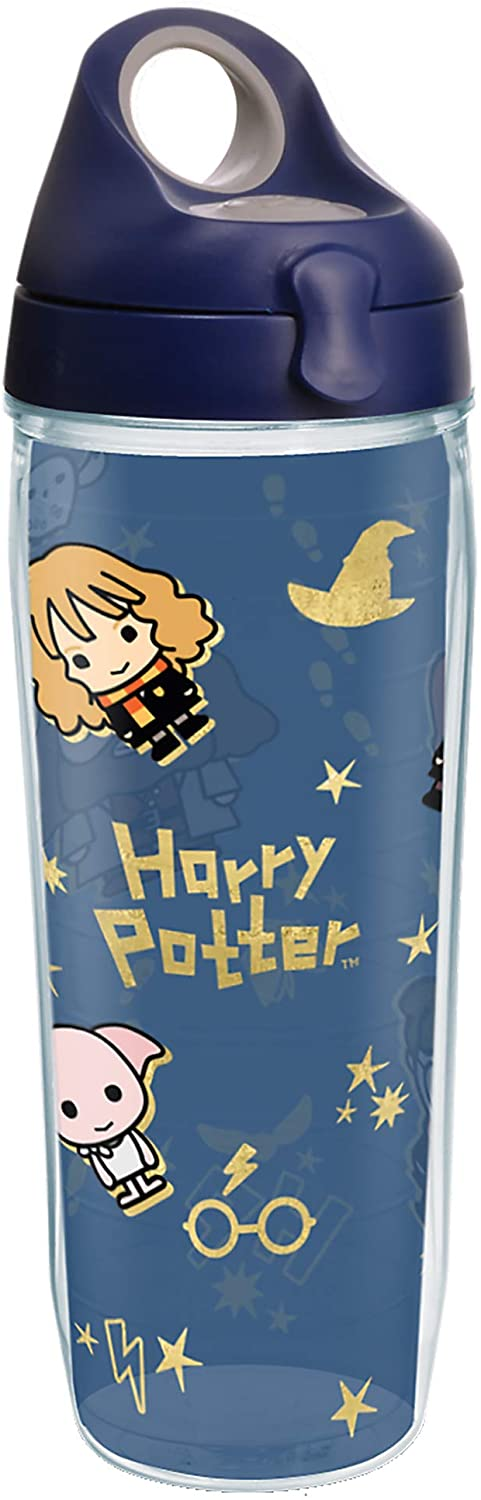 Tervis Harry Potter - Charm Icons Insulated Tumbler, 24oz Water Bottle, Clear - Tritan