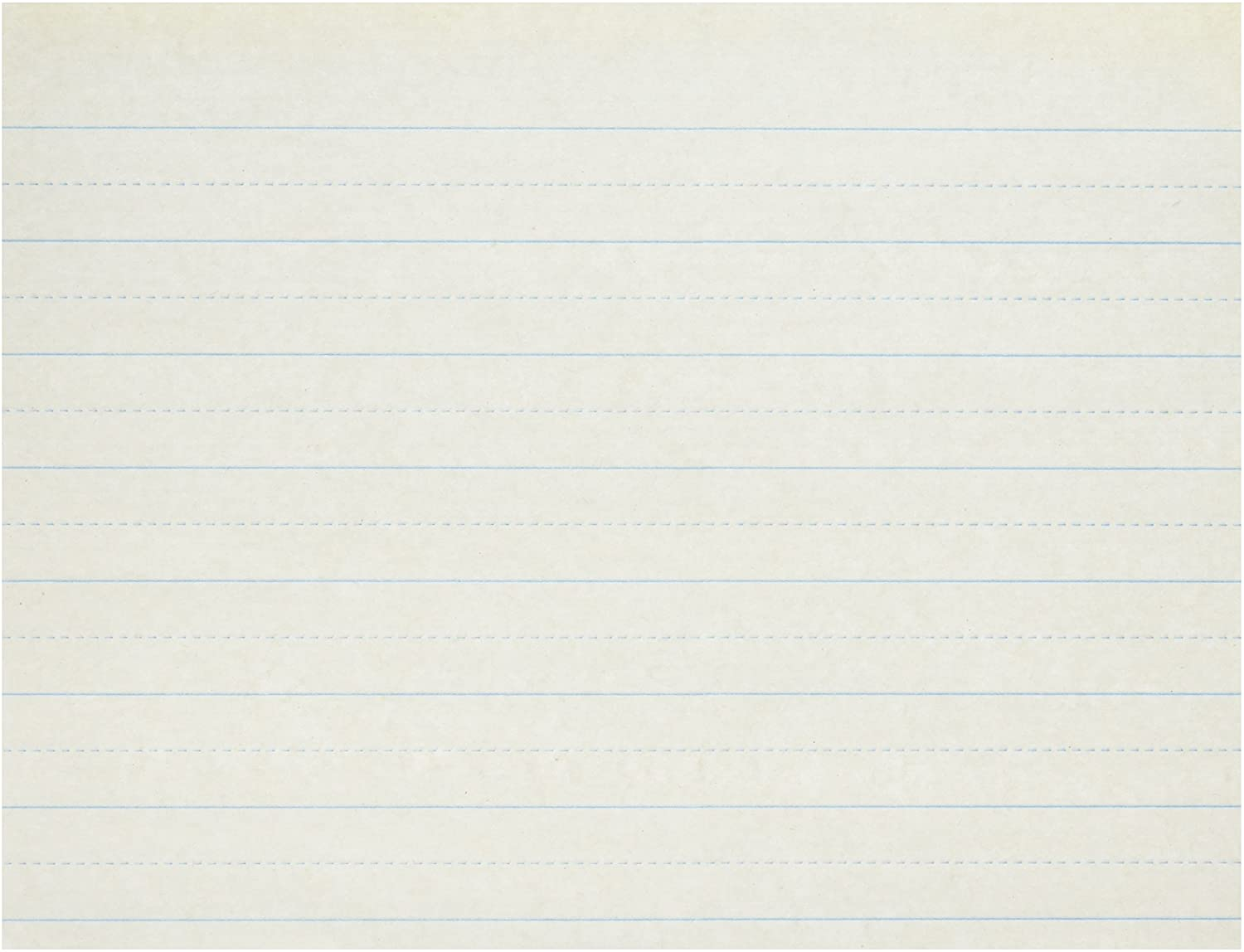 School Smart Alternate Ruled Writing Paper, 1 Inch Ruled Long Way, 11 x 8-1/2 Inches, Pack of 500