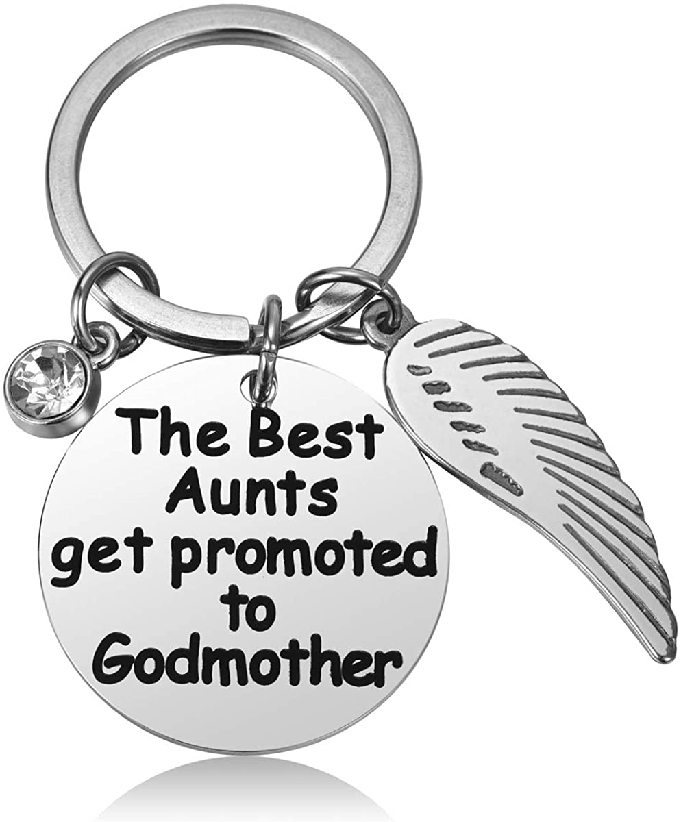 JZSTA Baptism Gift for Godparents, Christening Godparents Announcement Gifts Present Idea for Godmother Godfather