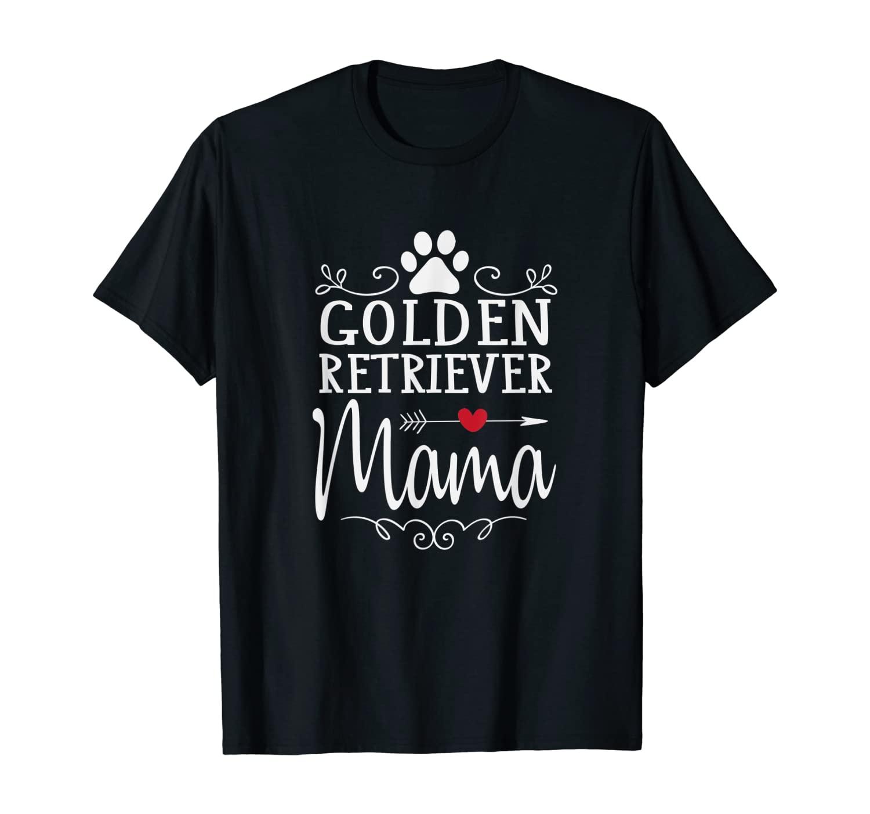 Golden Retriever Mama - Golden Retriever Lover Shirt Gift T-Shirt