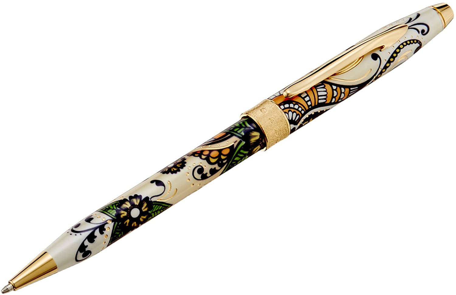 Cross Botanica Golden Magnolia Ballpoint Pen (AT0642-1)