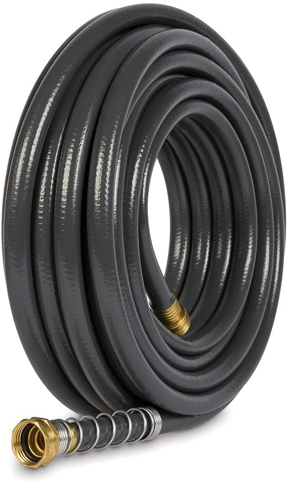 Gilmour 861501-1001 Flexogen Super Duty Garden Hose (1/2 x 50), 50 Feet, Grey