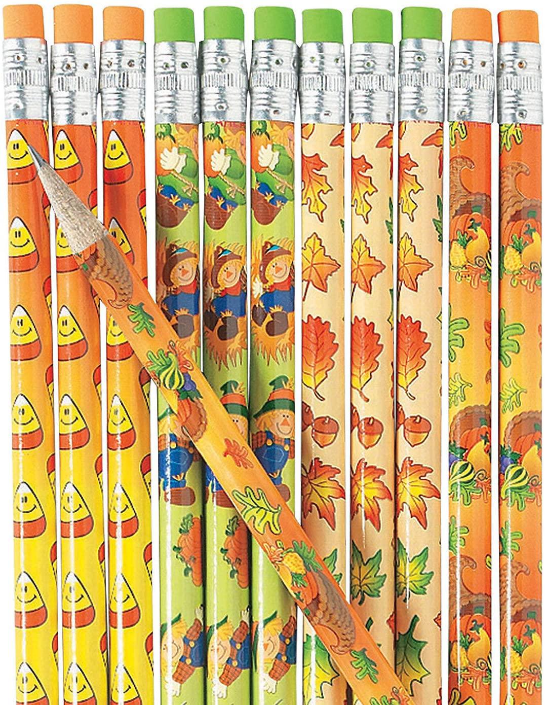 Fall Pencil Assortment (144 bulk pencil set) Fall Stationery
