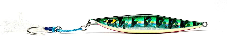 Mustad Daggerman Jig 100g Green Mackerel