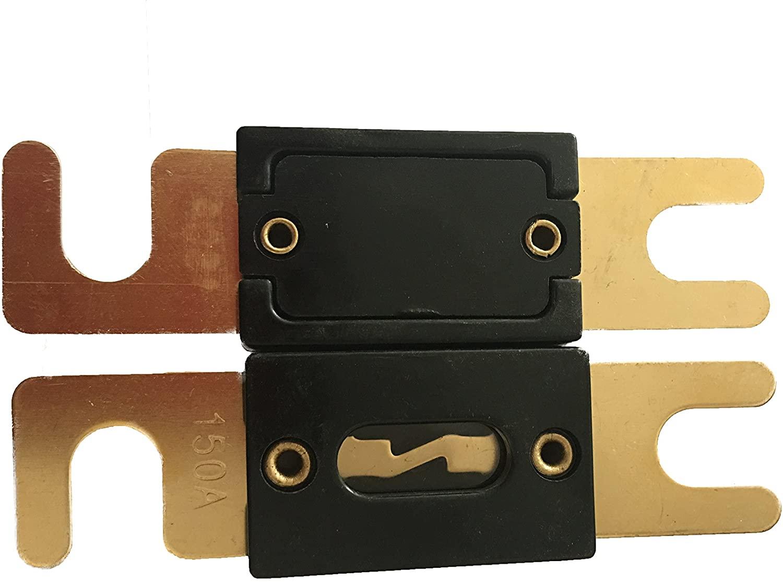 KOLACEN ANL Gold Plated Fuse 150 Amp 2 Pack