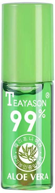 Lip Fliud, Aloe Vera Lip Oil Lipstick Lip Gloss Lip Tint Moisturizing Lip Balm, Health and Beauty HotSales (Green)