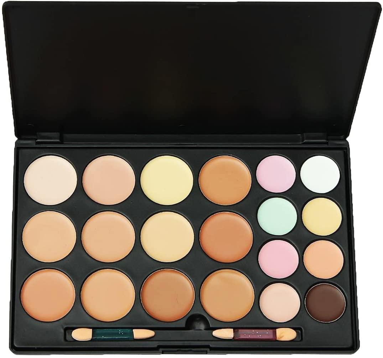 LEFV 20 Color Concealer Camouflage Palette Professional Cosmetics Foundation Makeup Set Cover Speckled Freckle Kit