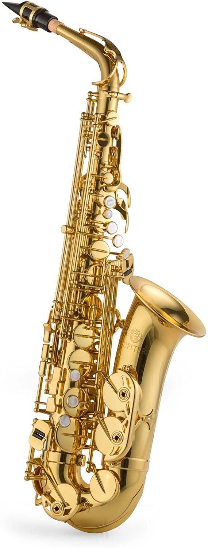 Jupiter Intermediate Eb Alto Saxophone, JAS1100