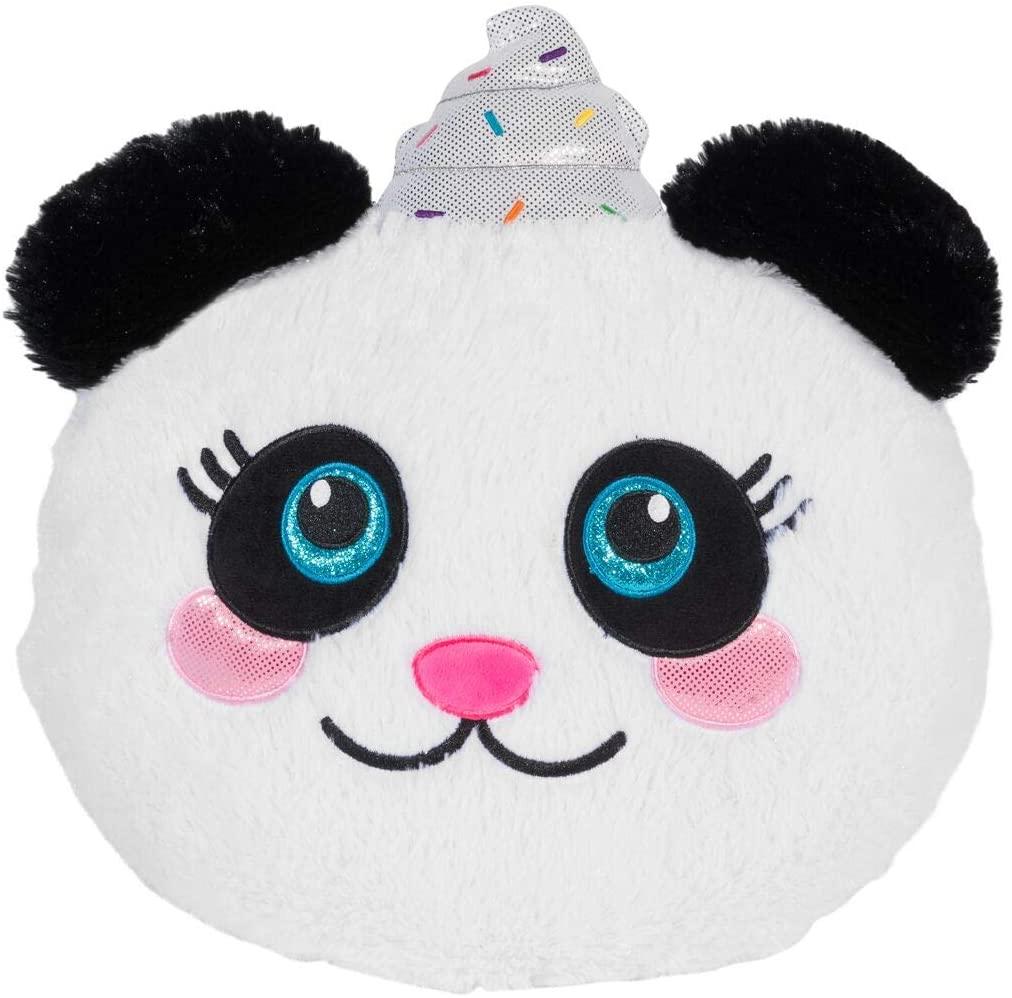 Whipped Cream Panda Scented Funanimals Furry Plush Pillow
