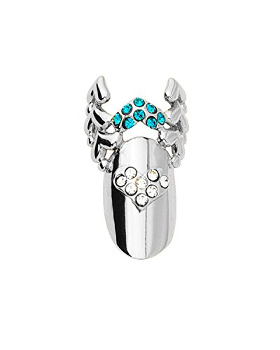 Stephen Nail Jewelry Wing (Medium, Silver)