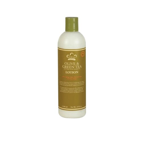 Nubian Heritage Body Lotion Olive & Green Tea, 13 Oz
