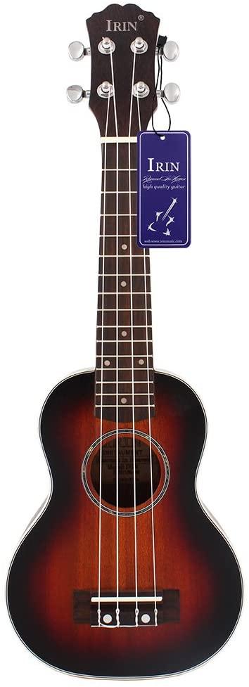 Andoer 21 inch Mini Ukelele Fretboard Stringed Instrument 4 Strings with Gig Bag (17 inch-#3)