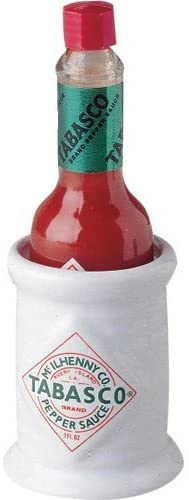 Ceramic 2 Ounce TABASCO Pepper Sauce Bottle Holder