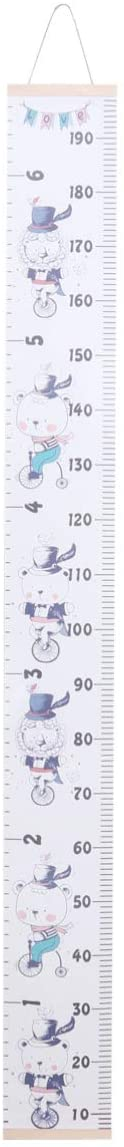 Garneck Baby Growth Chart Ruler Height Measure Chart Hanging Height Growth Chart for Kids Nursery Decor Baby Shower