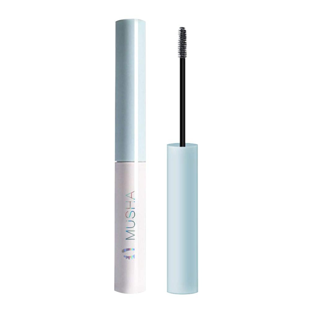 Luxsea Waterproof Top Coat Mascara Smudge-proof and Clump-Free Nourishing Lash Primer Lash-Plumping Conditioning Mascara